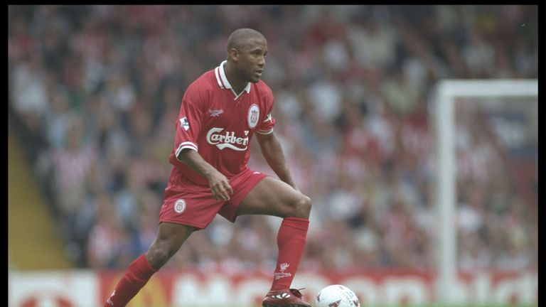 John Barnes, while playing for Liverpool